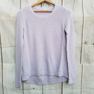 Madewell Lilac Riverside Sweater Size XS